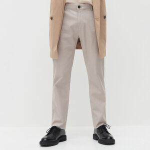 Reserved - Kalhoty chino slim - Béžová