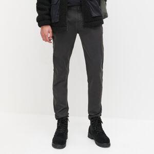 Reserved - Kalhoty chino super slim fit - Hnědá