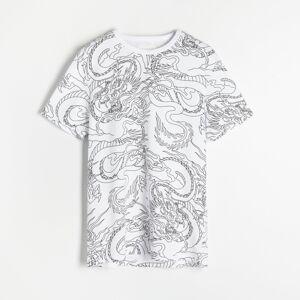 Reserved - Tričko s potiskem - Krémová