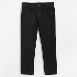 Reserved - Pánské jeans kalhoty - Černý