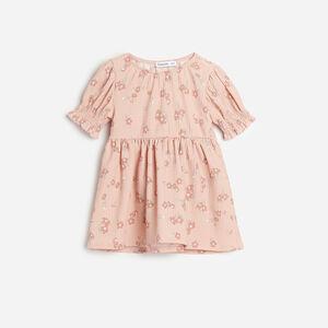Reserved - Květované šaty - Růžová