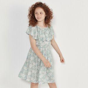 Reserved - Květinové šaty - Tyrkysová