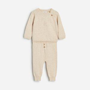 Reserved - Žerzejová souprava zorganické bavlny - Béžová