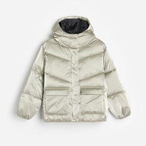 Reserved - Prošívaná bunda skapucí - Vícebarevná
