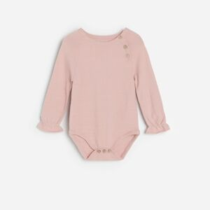 Reserved - BABIES` SWEATER - Růžová