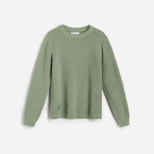 Reserved - Svetr z organické bavlny - Tyrkysová
