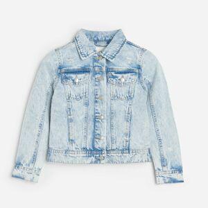 Reserved - Girls` jacket - Modrá