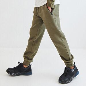 Reserved - Žerzejové kalhoty - Zelená