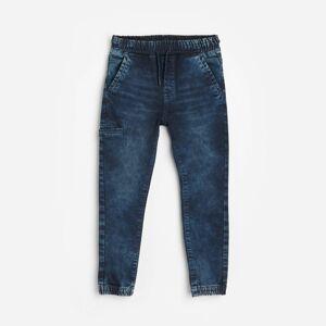 Reserved - Chlapecké jeans kalhoty - Tmavomodrá