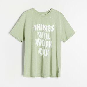 Reserved - Dámské tričko - Zelená