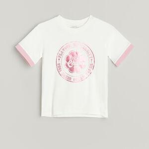 Reserved - Bavlněné tričko Chupa Chups - Krémová
