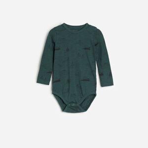 Reserved - Vzorované bavlněné body - Khaki