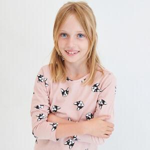 Reserved - Bavlněné vzorované tričko - Růžová