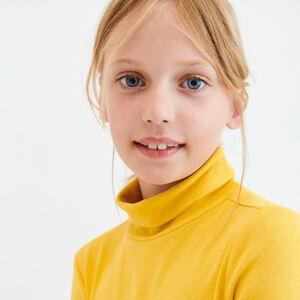 Reserved - Halenka svysokým podílem bavlny arolákem - Žlutá