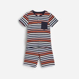 Reserved - Pyžamo zorganické bavlny - Oranžová