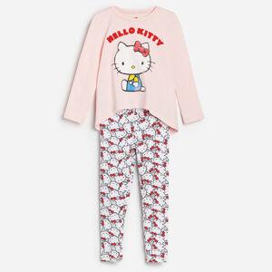 Reserved - Bavlněná pyžamová souprava Hello Kitty -