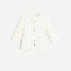 Reserved - Girls` blouse - Krémová