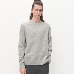 Reserved - Melírovaný svetr - Světle šedá