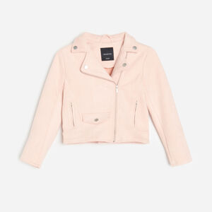 Reserved - Dívčí krátká bunda - Růžová