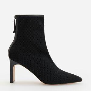 Reserved - Kotníkové boty na vysokém podpatku -