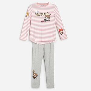 Reserved - Bavlněná pyžamová souprava Harry Potter - Fialová