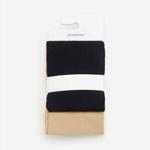 Reserved - Dívčí punčochové kalhoty - Černý