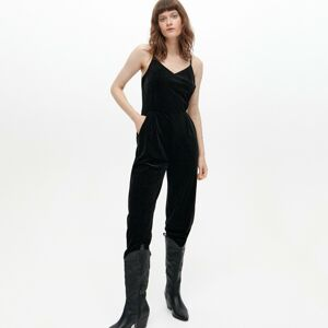 Reserved - Ladies` jumpsuit - Černý