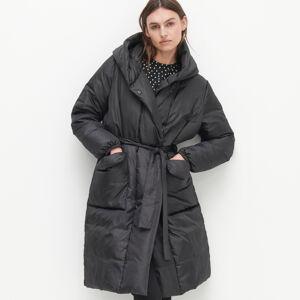 Reserved - Kabát se zateplením zrecyklované látky - Černý