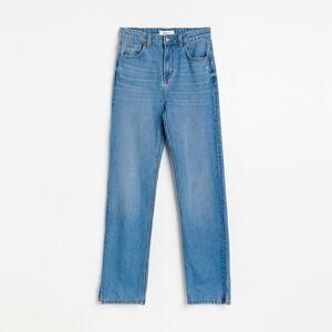 Reserved - Džíny srozšířenými nohavicemi - Modrá