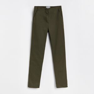 Reserved - LADIES` TROUSERS - Khaki