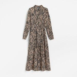 Reserved - Košilové šaty - Vícebarevná