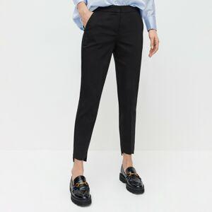 Reserved - Kalhoty chino se stahovacím pasem - Černý