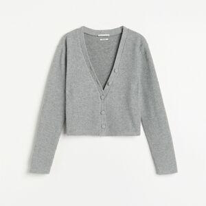 Reserved - Ladies` blouse - Světle šedá