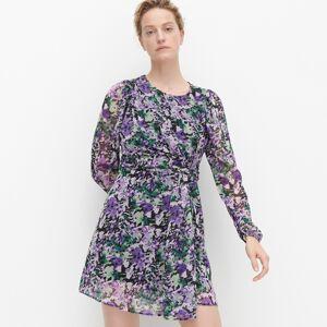 Reserved - Šaty s květovaným vzorem - Vícebarevná