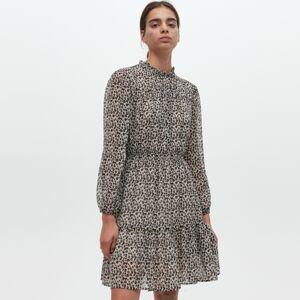Reserved - Pruhované šaty - Vícebarevná
