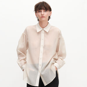 Reserved - Dámská košile - Béžová
