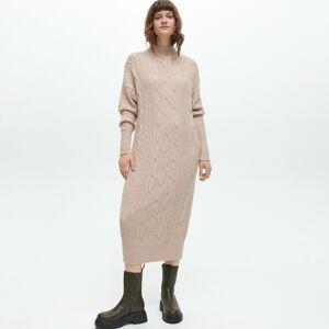 Reserved - LADIES` DRESS - Béžová