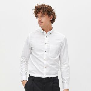 Reserved - Men`s shirt - Bílá