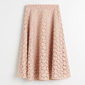 Reserved - Vyšívaná sukně -