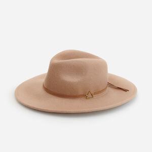 Reserved - Vlněný klobouk panama - Béžová