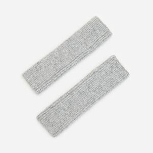 Reserved - Dlouhé bezprstové rukavice - Světle šedá