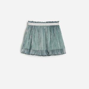 Reserved - Áčková sukně - Zelená