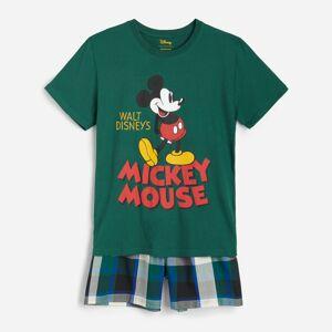 Reserved - Pyžamová souprava skraťasy Mickey Mouse - Zelená