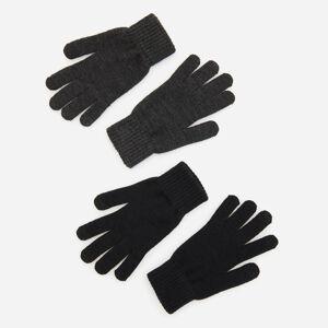 Reserved - Sada 2párů rukavic na dotykové displeje - Černý