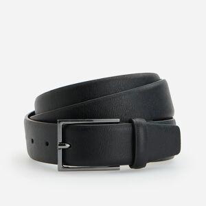 Reserved - Černý pásek zpřírodní usně - Černý